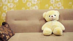 ספה עם דובי