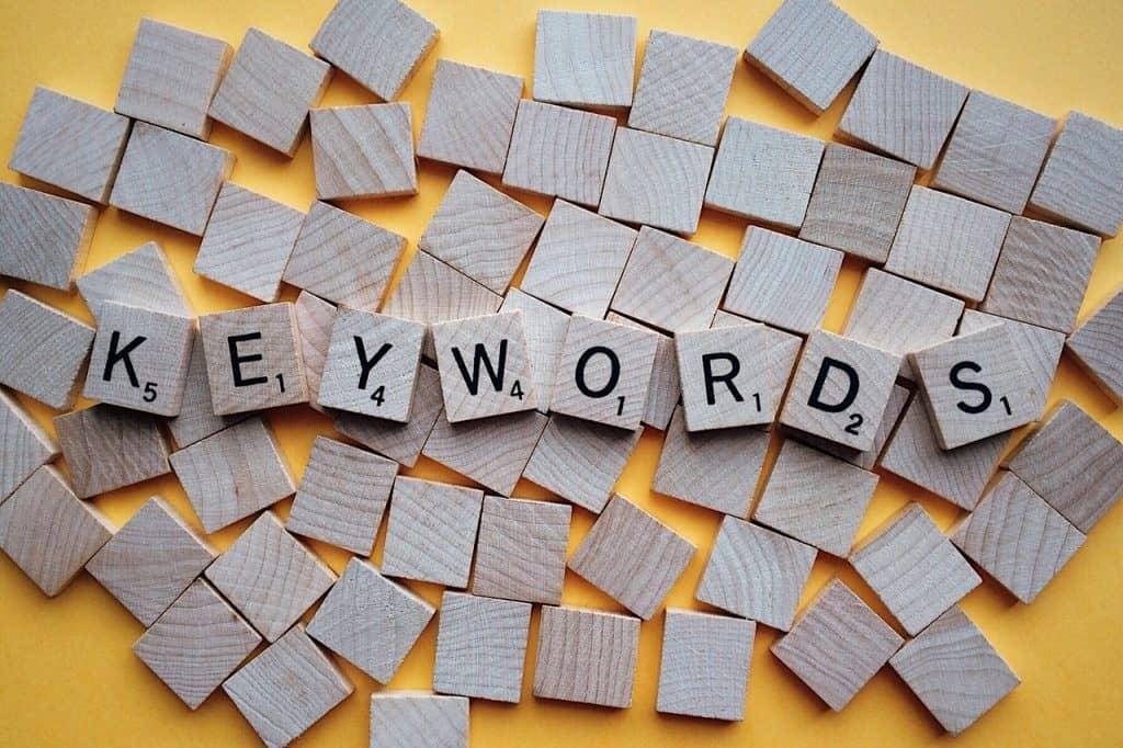 מילות מפתח בקוביות