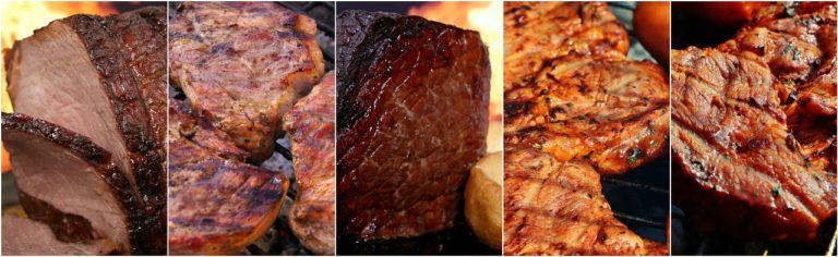 סוגים שונים של בשרים